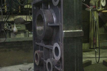 鋳物品を製缶品へ フレーム
