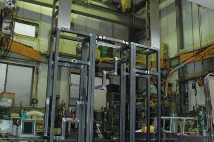 大物架台・ラック 図書館パーツ製作 溶接品