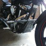 バイクパーツ XV1900CU レイダー クラッシュバー エンジンガード 試作
